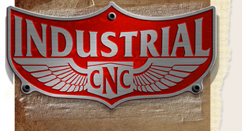 Industrial CNC Routers logo.